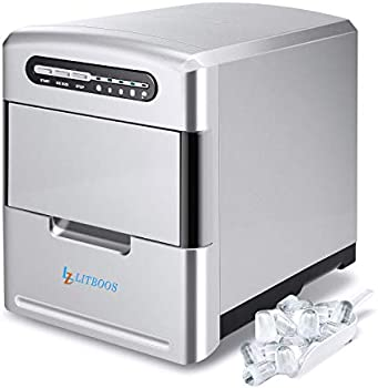 Litboos Electric Portable Stainless Steel Icemaker Machine