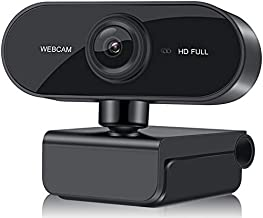 Full HD Web Computer Camera 1080p USB Laptop PC Webcam Streaming Auto Focus Camera with Microphone for Laptop and Desktop ...