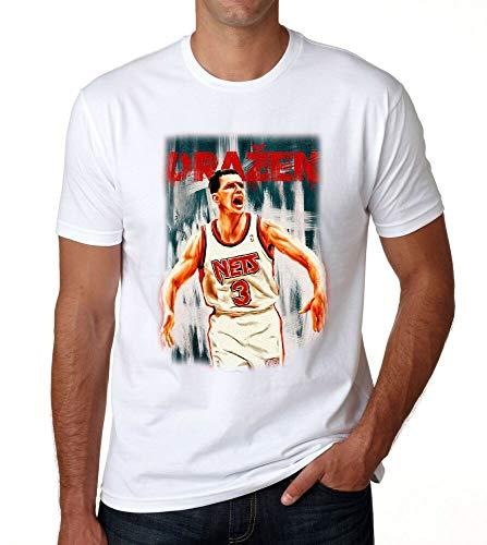 Drazen Petrovic - Camiseta de la leyenda del campeón de baloncesto europeo croata