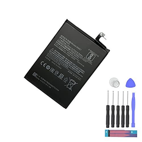 Aousavo BM51 - Batería de repuesto compatible con Xiaomi M1804E4A, M1804E4C, M1804E4T, Mi Max 3, Mi Max 3 Dual SIM TD-LTE con kit de repuesto
