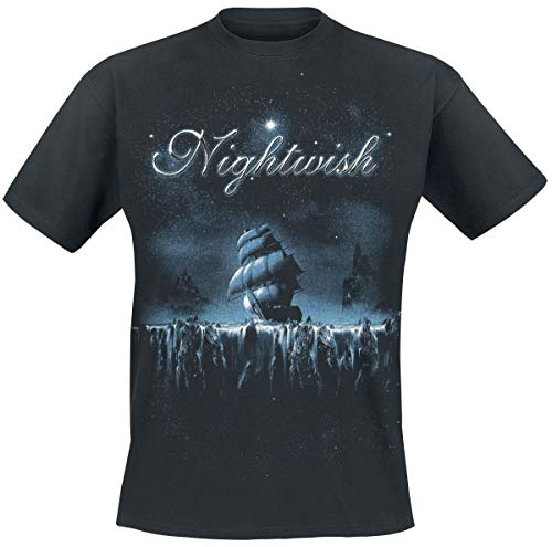 Nightwish Woe to All Männer T-Shirt schwarz L 100% Baumwolle Band-Merch, Bands