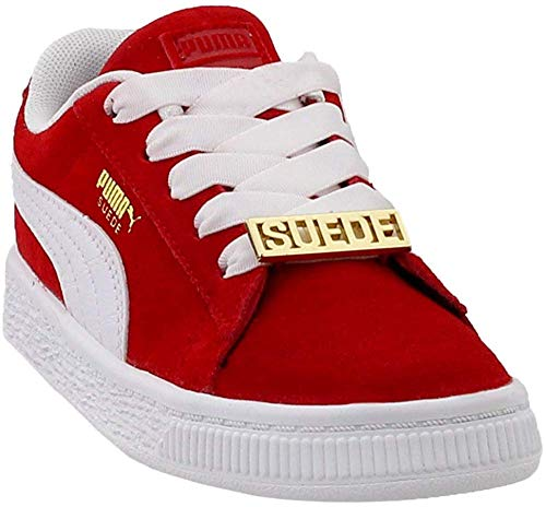 Puma Kids Baby Boy's Suede Classic Bboy Fabulous (Toddler) Flame Scarlet/Puma White 6 Toddler