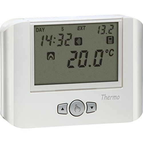 Vemer Thermostat Thermo GSM Weiß