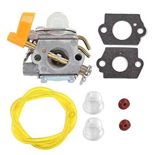 perfk Carburatore per OEM Ruixing Homelite Poulan Trimmer Soffiatore 308054013