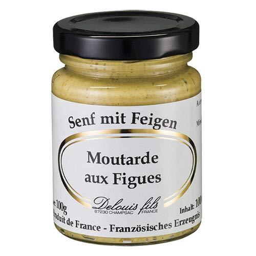 Delouis Fils - Senf mit Feigen (Moutarde aux Figues) aus Frankreich - 100 g