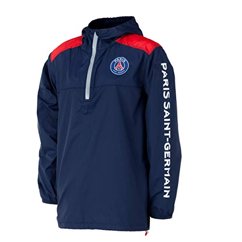 Paris Saint-Germain PSG Windjacke, offizielle Kollektion, Kindergröße für 4-Jährige blau