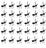 Hslife 36PCS Ant Food Pick Dessert Forks Picks Animal Appetizer Forks Animal Fruit Food Toothpicks, Reusable