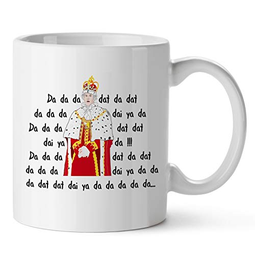 Pcdvn King George Hamilton Mug, Alexander American Musical Cup, Funny Quote Movie Coffee Mugs-Mother's Day Father's Day Birthday Gifts