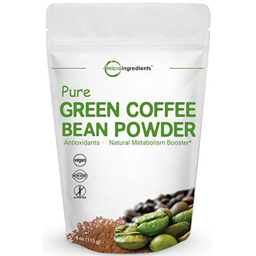Maximum Strength Pure Green Coffee Bean Super Extract, 4 Ounce, Supports Metabolism for Weight Management and Fat Burn, No GMOs and Vegan Friendly