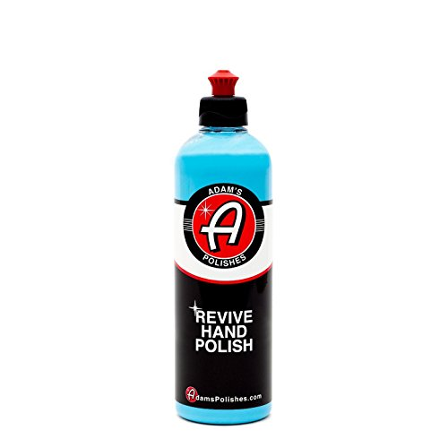 Adam's Revive Hand Car Polish 16oz - Adds Depth, Gloss and Clarity - Revive Your Finish by Hand … (16 oz)