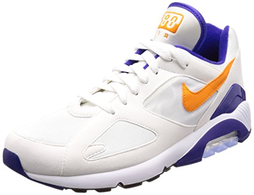Nike Air MAX 180, Zapatillas de Gimnasia para Hombre, Blanco (White B R It E Ceramic Dark Concorde 101), 38.5 EU