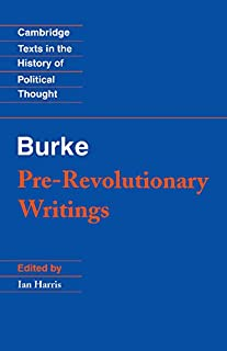 Pre-Revolutionary Writings (Cambridge Texts in the History of Political Thought)