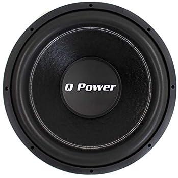 Q-POWER QPF12 12  1700W Deluxe Series Dual Voice Coil Car Audio Power Subwoofer