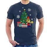 Photo de Cloud City 7 Alex Kidd Around The Christmas Tree Men's T-Shirt