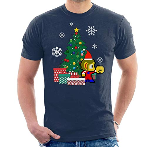 Cloud City 7 Alex Kidd Around The Christmas Tree Men's T-Shirt