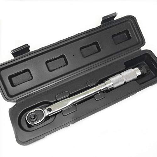 LIXUDECO AMANDA 1pcs 1/4 pulgadas de 5 a 25 nm Haga clic en torsión ajustable Llave Herramientas de reparación de bicicletas kit de reparación de bicicletas de herramientas de la llave inglesa de la m