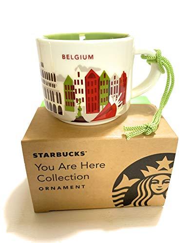 Starbucks Belgium You Are Here YAH Espresso Shot Coffee Ornament Mug