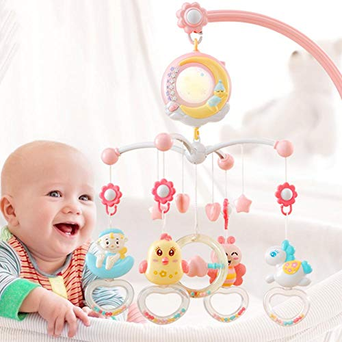 Great Deal! Crib Mobile Bed Bell Baby Bed Hanging Rotary Rattle Baby Stroller Music Nursering Mobile...