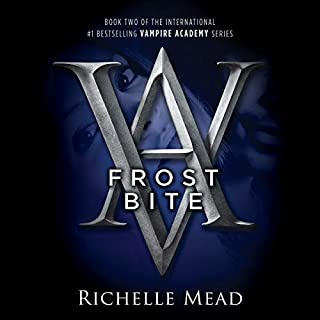 Frostbite audiobook cover art