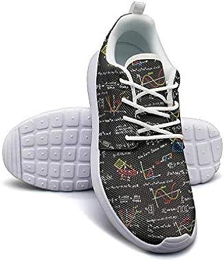 Vosda Physics Wallpaper Lightweight Running Shoes Women Sneaker Workout Shock Absorbing Shoes