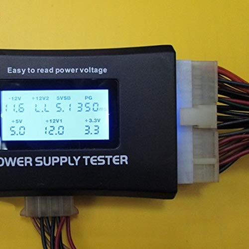 ACE NHT - Battery Testers - Measuring Instrument 1pcs Digital Lcd Display Power Supply Tester Computer 20 24 Pin Support - Digital Best Automotive Load Cell Battery Button Testers Cars Small Batteries