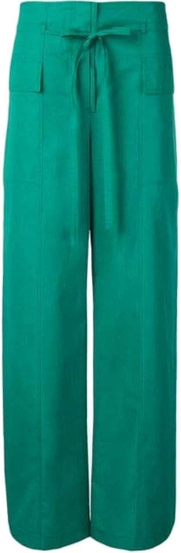 SPORTMAX Women's 21310891000011 Green Cotton Pants