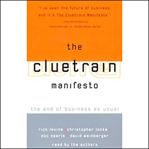 The Cluetrain Manifesto audiobook cover art