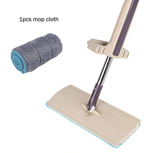 DIANZI Mopp 360 graden draaibare mopspray-tow-greep, gemakkelijk te reinigen vloerreiniger met multifunctioneel vlak profiel