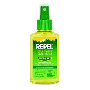 REPEL Lemon Eucalyptus Natural Insect Repellent Pump, 1 unit, 4-oz