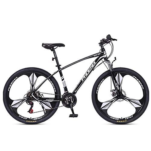 Dsrgwe Bicicleta de Montaña, MTB/Bicicletas, Marco de Acero al Carbono, Doble Freno de Disco Delantero y suspensión, y de 26 Pulgadas / 27 Pulgadas Ruedas de radios, 24 de Velocidad