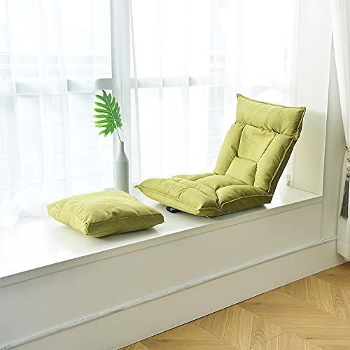 ZNOUSH Sofá perezoso puf tatami plegable cama de ventana de balcón individual en el piso silla de ordenador de la computadora de la silla de la computadora de piso