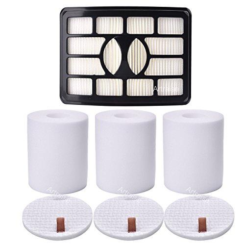 Artraise Filters for Shark Rotator Pro Lift-away Vacuum NV500, NV501, NV502, NV505, NV520, NV552, UV560, NV642, ZU780, ZU782, ZU785, Xff500 Xhf500 (Not Fits NV650, NV680, NV750 Series)