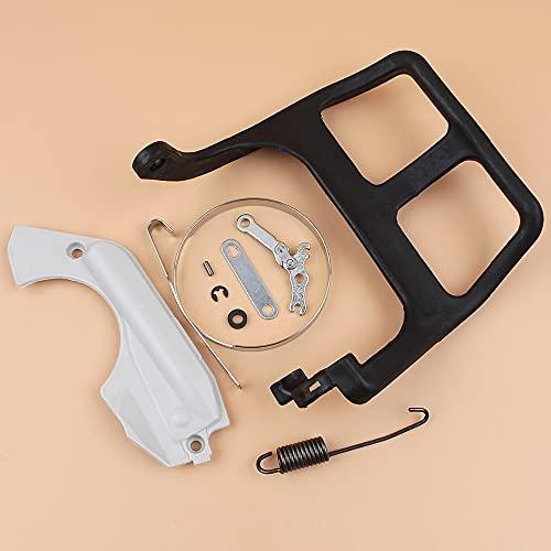 Kit de banda de cubierta protectora de mano de palanca de freno de cadena para piezas de motosierra STIHL MS180 MS170 MS 180 170 018 017