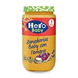 Hero Baby - Zanahorias Baby Delicias De Ternera 235 gr - Pack de 6 (Total 1410 gr)
