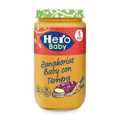 Hero Baby Zanahorias Delicias de Ternera, 235g