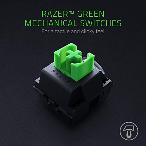 Razer BlackWidow (2019) - Mechanical Full-Size Gaming-Keyboard, DE-Layout & Sphex V2 Gaming Mauspad Medium (mit ultradünner Oberfläche, Gaming Mausmatte optimiert für alle Sensortypen)