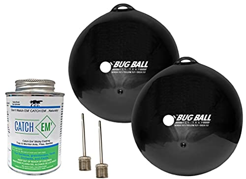 Bug Ball Starter kit- Yellow Fly, Horse Fly, Deer Fly, and Greenhead Fly Trap