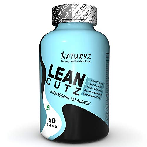 Naturyz LEAN CUTZ Thermogenic Fat Burner with Acetyl L Carnitine,...