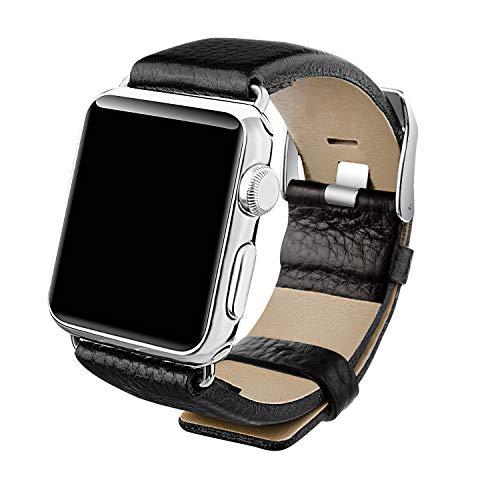Horlogeband echt leer horlogebandjes vervangingsarmband voor outdoor sporthorloges, militaire stijl horloges, retro stijl horloges 14mm 16mm 18mm 20mm 22mm 24mm 26mm