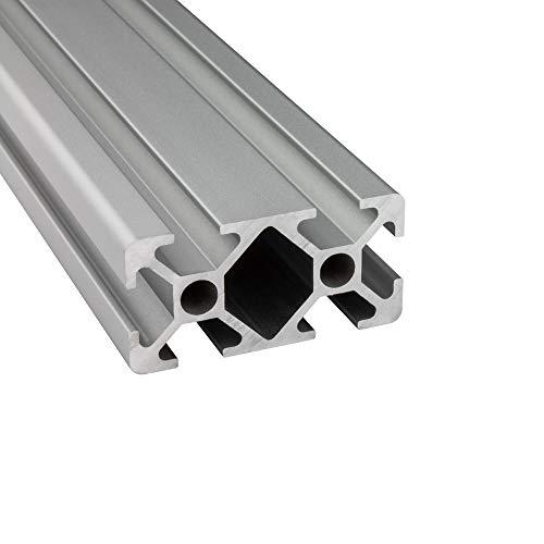 Alu Profil 20x40mm 2m System-, Montage-, Konstruktionsprofil Nut 6 1000mm