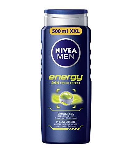 Nivea Men Duschgel für Körper, Gesicht & Haar, Energy, (500 ml)