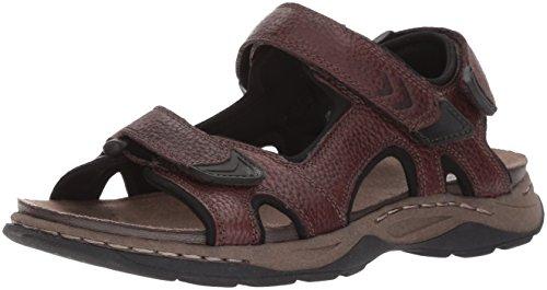 Dr. Scholl's Shoes Men's Hayden Fisherman Sandal, Brown, 10 M US