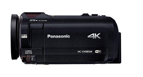パナソニック4KビデオカメラVX985M64GBあとから補正ブラックHC-VX985M-K