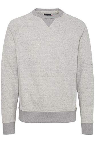 Blend Herren 20706979 Sweatshirt, Grau (Stone Mix 70813), X-Large