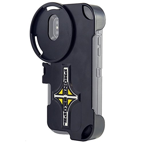 Phone Skope Phone CASE ONLY | Digiscoping kit for Spotting Scope, Binocular, Microscope, Zoom Camera, Hunting, Biology, Birdwatching, Birding and Phone Scope Lenses (iPhone X, iPhone Xs)