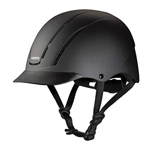 Troxel Spirit Black Duratec Equestrian Riding Helmet (Medium)