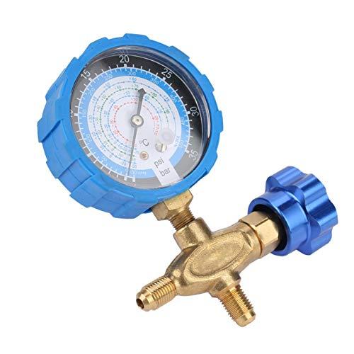 Manómetro de aire acondicionado, indicador de características estables, reemplace el roto por R410 R134A fácil de instalar R404A R22