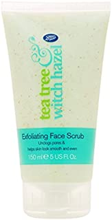 Boots Tea Tree and Witch Hazel Exfoliating Face Scrub 150ml