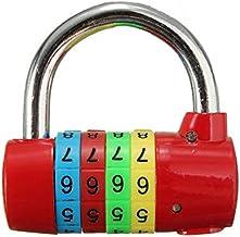 4 cijfer resettable combinatie hangslot reizen bagage tas dagboek koffer code beveiligingslot keuken deur kast deur toilet...