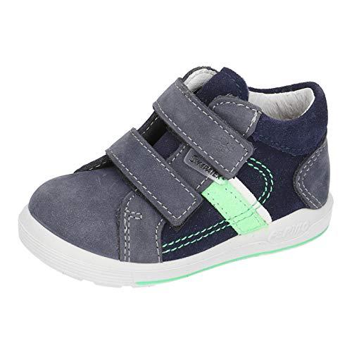RICOSTA Jungen Lauflern Schuhe LAIF von Pepino, Weite: Mittel (WMS),wasserfest, Kinder Jungen Kinderschuhe toben Spielen,Nautic,28 EU / 10 Child UK